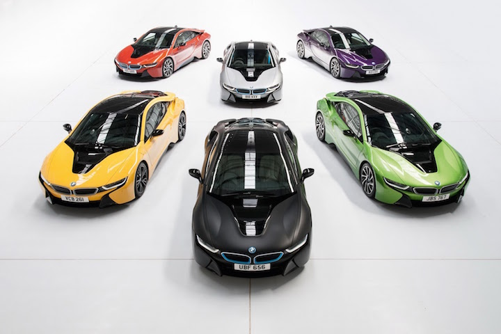New Bmw I8 Colours Lets You Drive The Rainbow With Purple Yellow Green And More