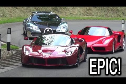Video: Laferrari, Bugatti Veyron, Ferrari Enzo, Lamborghini Diablo