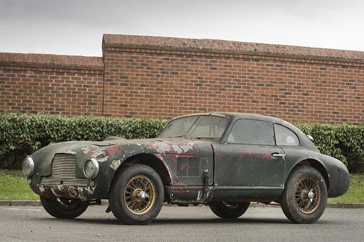 This Abandoned Aston Martin Prototype Is Worth 1 Million